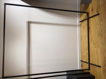 a saisir portant acier patin noir 200 78100. Black Bedroom Furniture Sets. Home Design Ideas