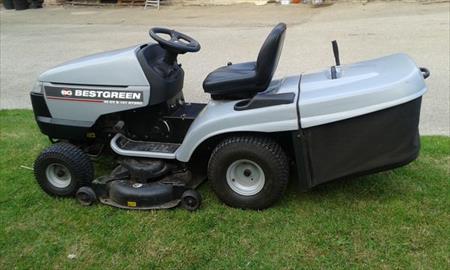 Tracteur tondeuse bestgreen 20 cv