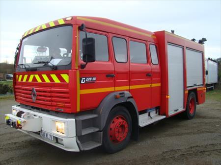 Camion de pompier renault g270 22290 goudelin cotes d 39 armor bretagne - Lit camion de pompier ...