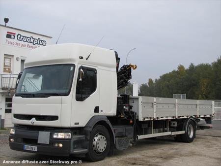 camion ptac 3 5 t plateau renault premium 26000 51301 vitry le francois marne. Black Bedroom Furniture Sets. Home Design Ideas