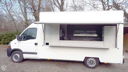 camion pizza vasp am nagement neuf four 4 6 pizzas. Black Bedroom Furniture Sets. Home Design Ideas