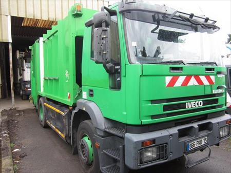 Camions benne ordures m nag res en france belgique for Location benne a ordure