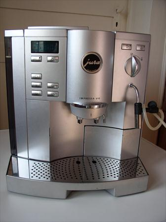 Machine caf automatique jura impressa s95 jura 390 70320 aillevil - Prix machine a cafe jura ...