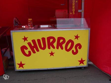 Superbe stand churros chichi pret a travail 3000 - Appareil a crepe professionnel ...