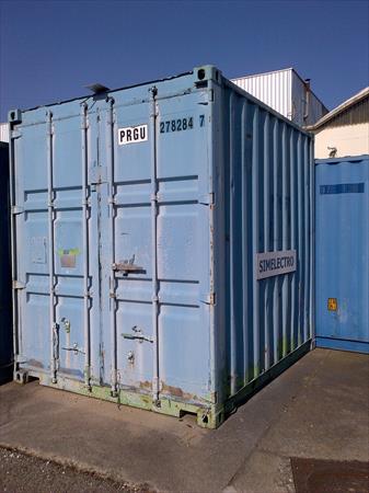 Conteneur container de chantier 10 pieds 600 for Conteneur achat prix