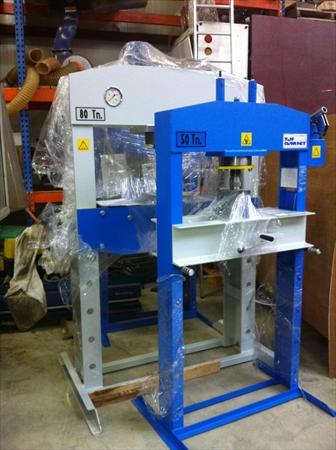 Presse hydraulique 80 tonnes 4400 81440 lautrec for Presse agrume professionnel occasion