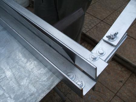 plieuse portative 1 07m neuve t le zinc outil de c 250. Black Bedroom Furniture Sets. Home Design Ideas