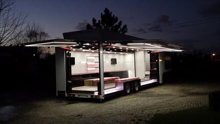 remorques food truck snack burger en france belgique. Black Bedroom Furniture Sets. Home Design Ideas