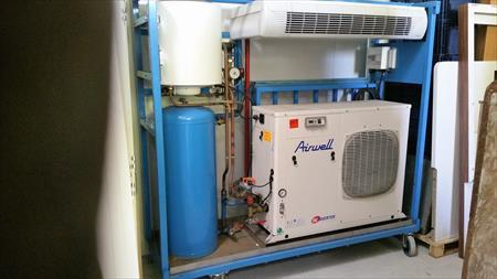 Pompe a chaleur airwell pac+10