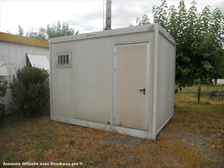 bungalows cabines bureaux sanitaires wc de chantier en languedoc roussillon occasion ou. Black Bedroom Furniture Sets. Home Design Ideas