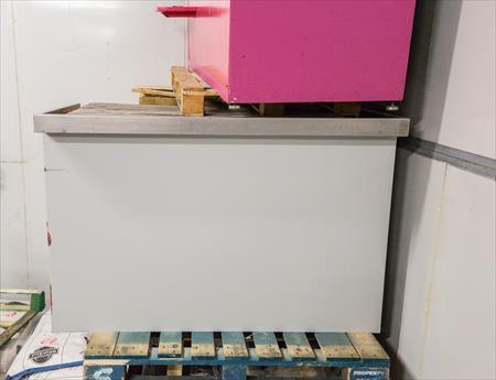 Meuble comptoir bois gris 90 64100 bayonne for Meuble comptoir caisse