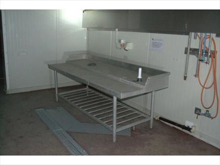 table de travail en inox 15 herselt nord pas de calais annonces achat vente mat riel. Black Bedroom Furniture Sets. Home Design Ideas