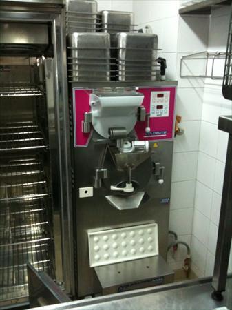 Machine a fabrication de creme glacee carpigiani - Turbine a glace professionnel ...
