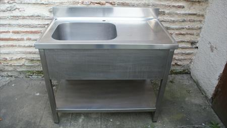 Laves vaisselle plonges viers inox etc en france for Evier en inox professionnel