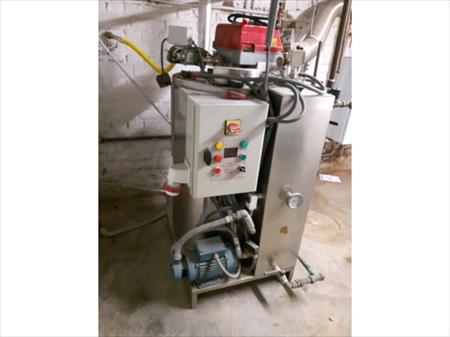 G n rateur de vapeur pour atelier de pressing ditta for Centrale vapeur professionnelle pour pressing