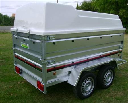 remorque 2 essieux ptac 500 kg 1790 86700 payre vienne poitou charentes annonces. Black Bedroom Furniture Sets. Home Design Ideas