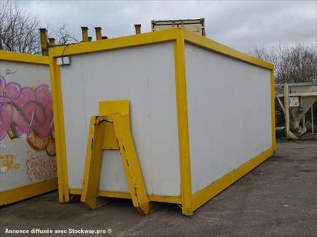 Bungalows cabines bureaux sanitaires wc de chantier en picardie occasion ou destockage toutes - Bungalow bureau occasion ...
