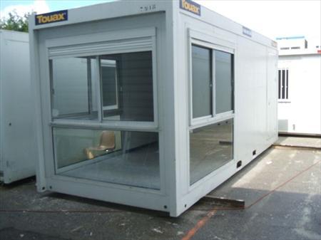 Bungalows cabines bureaux sanitaires wc de chantier en france belgique pays - Comment amenager un container ...
