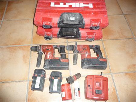 Lot hilti 2 perforateur sans fil te 6 a 4 batter hilti 350 47230 vianne lot et garonne - Prix d un perforateur ...