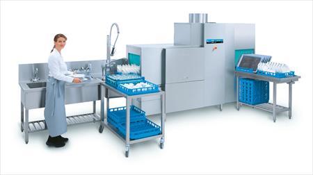 Laves vaisselle convoyeur tunnels de lavage en france for Machine plonge professionnel