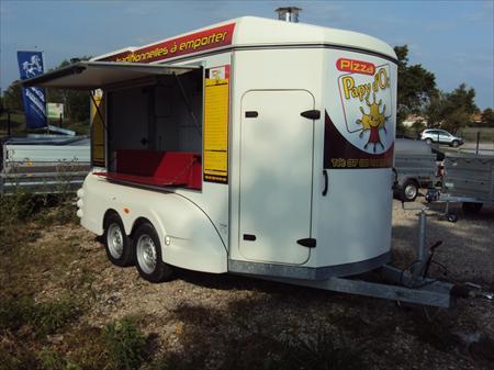 unique remorque pizzas barbot toute quip e barbot