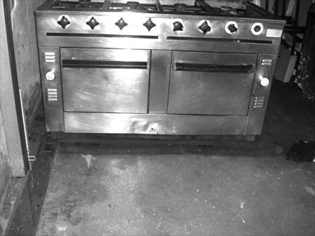 Piano de cuisine a gaz 8 feux double fours morice 1200 for Piano cuisine occasion