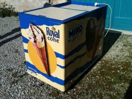 Congelateur professionnel pour glaces