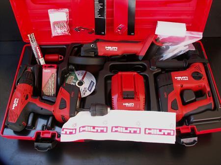 3 tool kit meuleuse perfo visseuse hilti 1290 13960 sausset les pins - Perforateur hilti prix ...