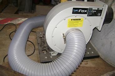 Copeaux aspirateur sciure