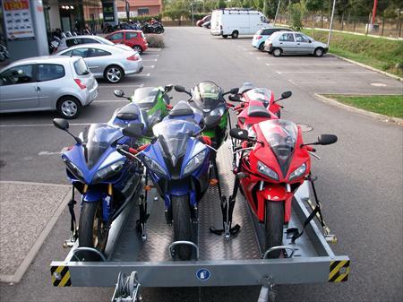 Remorques utilitaires porte moto quad side en france - Location utilitaire limoges ...