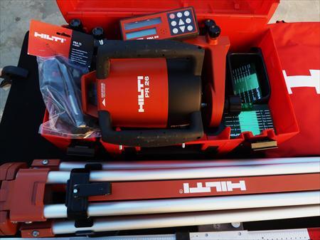 Hilti laser pr26 rotatif hilti 1590 13960 sausset - Laser rotatif hilti ...