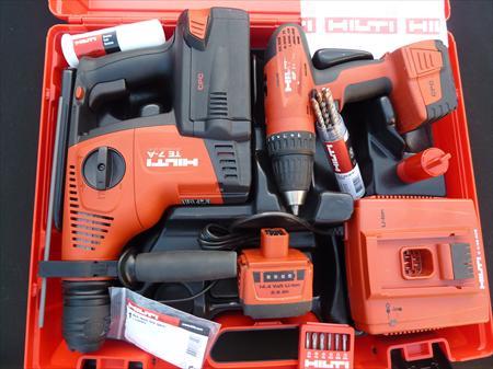 Tool kit hilti perforateur te7 visseuse sfc14a hilti 990 13960 sauss - Perforateur hilti prix neuf ...