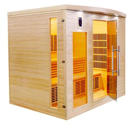 Sauna infrarouge apollon 5 places emballage abim france for Sauna exterieur occasion