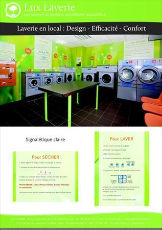 laverie automatique concept lux laverie electrolux. Black Bedroom Furniture Sets. Home Design Ideas