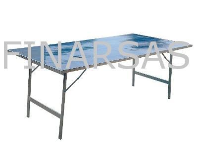 Pr sentoirs tr teaux tables pliables de march en france - Table alu pour marche ...