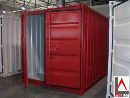 Containers de chantier containers de stockage en france for Conteneur maritime occasion pas cher