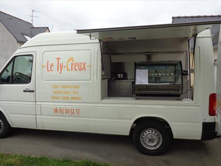 Fourgon quip restauration rapide volkswagen lt35 for Materiel restauration rapide professionnel