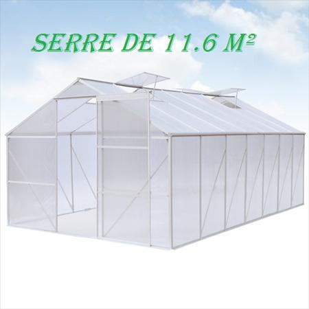 Serres tunnels mara cher professionnels en france for Serres de jardin belgique
