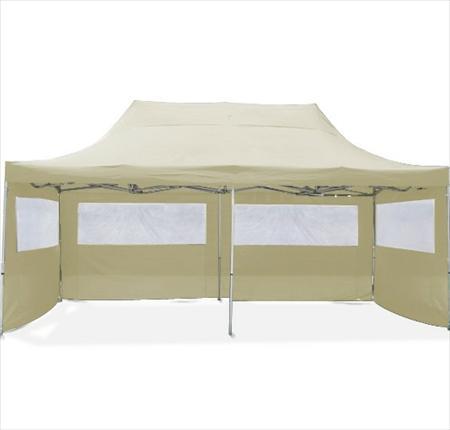 barnum tonnelle 3 x 6 creme neuf 319. Black Bedroom Furniture Sets. Home Design Ideas