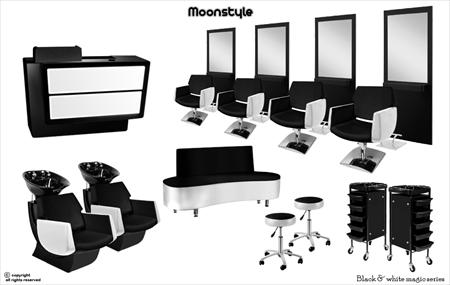 mobilier salon de coiffure pas chere coiffures la mode. Black Bedroom Furniture Sets. Home Design Ideas
