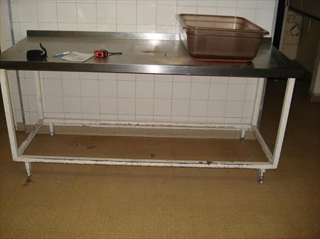 tables inox 1900 x 700 en france belgique pays bas luxembourg suisse espagne italie maroc. Black Bedroom Furniture Sets. Home Design Ideas