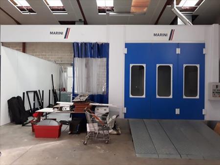 Cabine De Peinture Zone De Preparation Et Laboratoire Marini A 18000 60490 Ressons Sur Matz Oise Picardie Annonces Achat Vente Materiel Professionnel Neuf Et Occasion Cabines De Peinture Et Accessoires