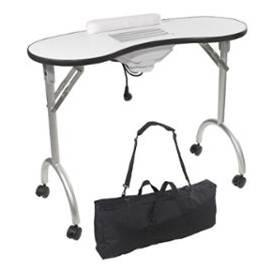 table de manucure pliante avec aspirateur 150 33510 andernos les bains gironde. Black Bedroom Furniture Sets. Home Design Ideas