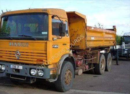 camion ptac 3 5 t benne basculante de chantier et de tp renault gamme g 12500 57645. Black Bedroom Furniture Sets. Home Design Ideas