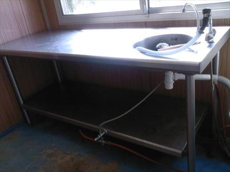 Table Inox Avec Evier A 600 49320 Grezille Maine Et