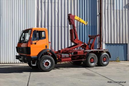 camion ptac 3 5 t benne amovible bras mercedes benz 2629 35000 30340 saint. Black Bedroom Furniture Sets. Home Design Ideas