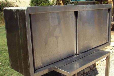 meuble inox en 140 360 59000 lille nord nord pas de calais annonces achat vente. Black Bedroom Furniture Sets. Home Design Ideas