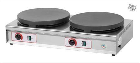 crepiere double electrique neuve rm gastro 520 79200 pompaire deux s vres poitou. Black Bedroom Furniture Sets. Home Design Ideas