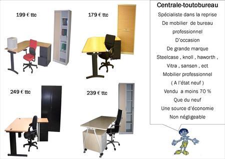 Promo mobilier de bureau professionnel occasion steelcase sansen ect case 60 53000 - Mobilier de bureau laval ...