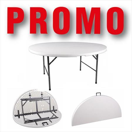 table traiteur pliante ronde: asi la brodeuse à 102 € | 93600